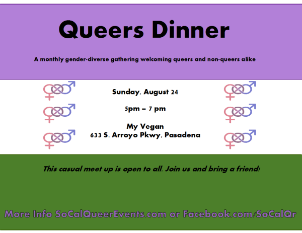 queers dinner aug