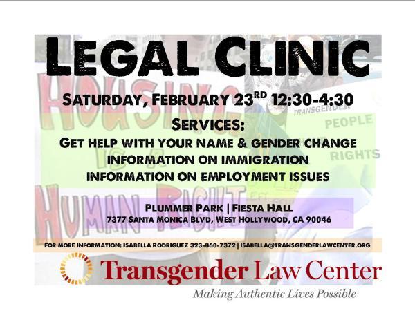 tlc legal clinic