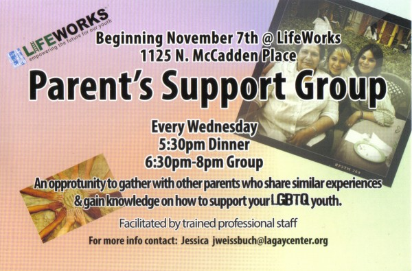 Lifeworks Parent Group