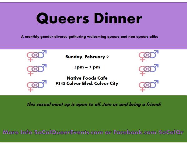 queers dinner feb