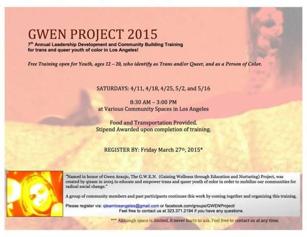 gwen project 1