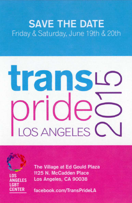 LA trans pride