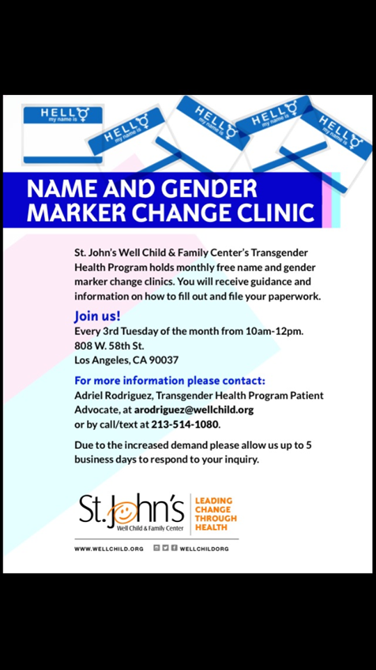 name gender clinic